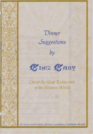 Chez Carey