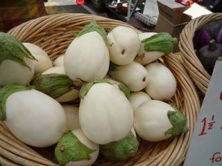 White Eggplant