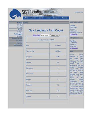 SEA Landing Activities