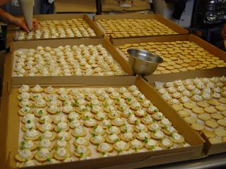 Canapes for all my friends cooking on the american for Canape insurance